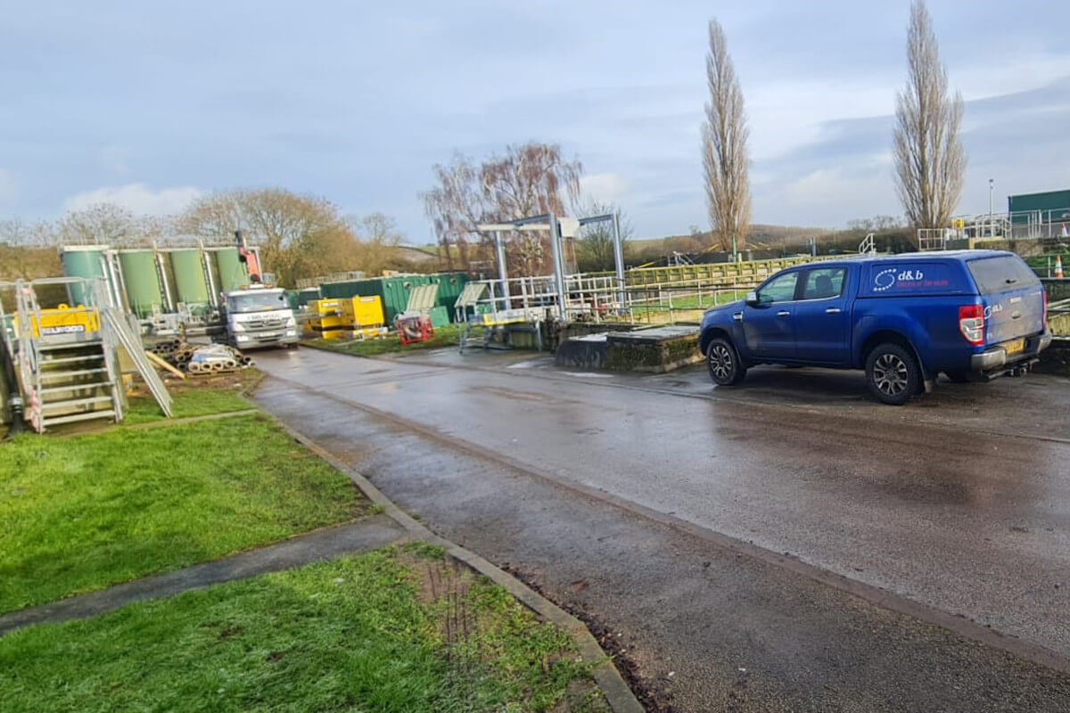 D&B Electrical. Temporary Generator Install at Water Waste Site, photo #2