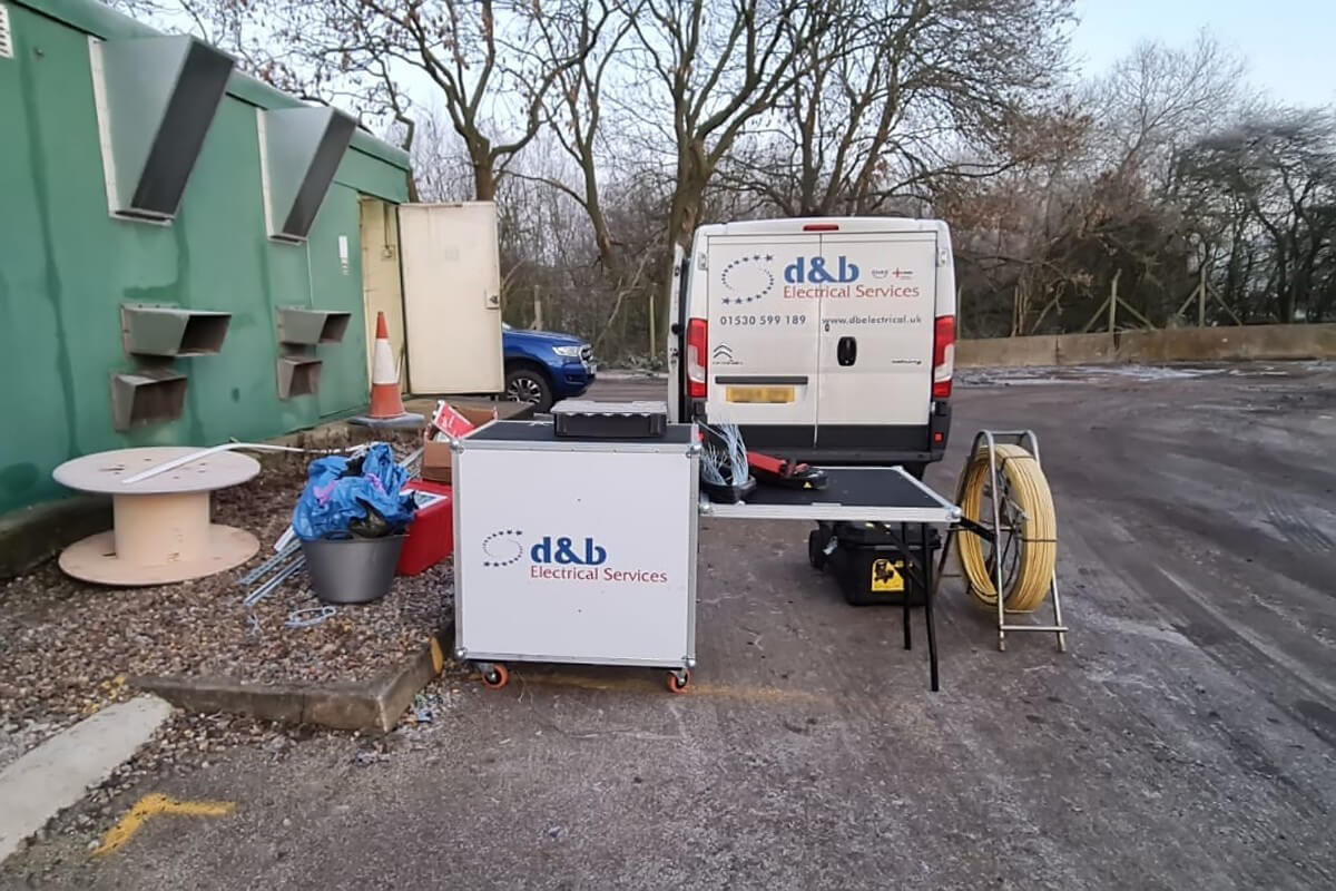 D&B Electrical. Water Waste Site Works Complete, photo #3